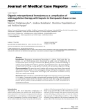 """Báo cáo y học: """" Gigantic retroperitoneal hematoma as a complication of anticoagulation therapy with heparin in therapeutic doses: a case report"""""""