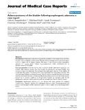 "Báo cáo y học: "" Adenocarcinoma of the bladder following nephrogenic adenoma: a case report"""