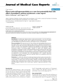 """Báo cáo y học: """" Glucocorticoid hypersensitivity as a rare but potentially fatal side effect of paediatric asthma treatment: a case report"""""""