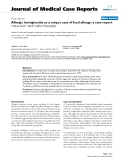 """Báo cáo y học: """"   Allergic hemiglossitis as a unique case of food allergy: a case report"""""""