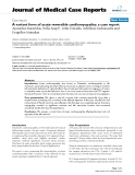 "Báo cáo y học: ""   A variant form of acute reversible cardiomyopathy: a case report"""