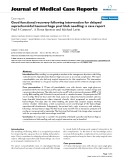 """Báo cáo y học: """"   Good functional recovery following intervention for delayed suprachoroidal haemorrhage post bleb needling: a case report"""""""