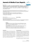 "Báo cáo y học: ""   Takayasu's arteritis associated with Crohn's disease: a case report"""
