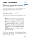 """báo cáo khoa học:""""  Normative and self-perceived orthodontic treatment need of a Peruvian university population"""""""