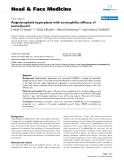 "báo cáo khoa học:""  Angiolymphoid hyperplasia with eosinophilia: efficacy of isotretinoin?"""