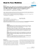 """báo cáo khoa học:"""" Salivary flow rate, pH, and concentrations of calcium, phosphate, and sIgA in Brazilian pregnant and non-pregnant women"""""""