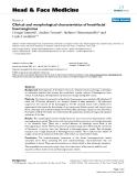 "báo cáo khoa học:""Clinical and morphological characteristics of head-facial haemangiomas"""