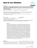 """báo cáo khoa học:""""  Unilateral congenital elongation of the cervical part of the internal carotid artery with kinking and looping: two case reports and review of the literature"""""""