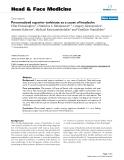 "báo cáo khoa học:"" Pneumatized superior turbinate as a cause of headache"""