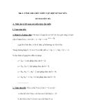 Bài 1: TÍNH CHIA HẾT TRÊN TẬP HỢP SỐ NGUYÊN. SỐ NGUYÊN TỐ