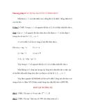 Phương pháp 8: SỬ DỤNG NGUYÊN LÝ ĐIRICHLET