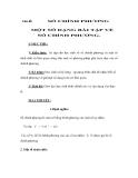 Chủ đề:  SỐ CHÍNH PHƯƠNG  MỘT SỐ DẠNG BÀI TẬP VỀ SỐ CHÍNH PHƯƠNG