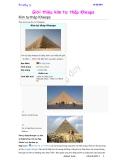 Giới thiệu về kim tự tháp Ki-ốp