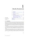 BIOMATERIALS - CHAPTER 1