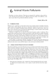 Environmental Management of Concentrated Animal Feeding Operations (CAFOs) - Chapter 6