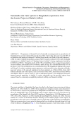 NATURAL ARSENIC IN GROUNDWATER: OCCURRENCE, REMEDIATION AND MANAGEMENT - CHAPTER 33