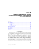 Remote Sensing and GIS Accuracy Assessment - Chapter 19