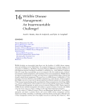 WILDLIFE SCIENCE: LINKING ECOLOGICAL THEORY AND MANAGEMENT APPLICATIONS - CHAPTER 16