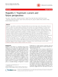 "Báo cáo y học: ""Hepatitis C Treatment: current and future perspectives"""