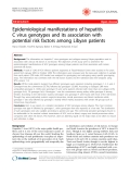 """Báo cáo y học: """"Epidemiological manifestations of hepatitis C virus genotypes and its association with potential risk factors among Libyan patients"""""""