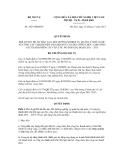 Quyết định số 1923/QĐ-BNV