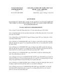 Quyết định số 63/2011/QĐ-UBND