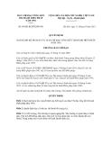 Quyết định số 89/QĐ-BCĐTKHP1992