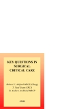 KEY QUESTIONS IN SURGICAL CRITICAL CARE - PART 1
