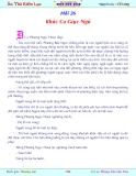 Ân thù kiếm lục-Chương 26