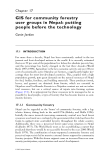 Community Participation and Geographic Information Systems - Chapter 17