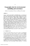 Environmental Modelling with GIs and Remote Sensing - Chapter 4