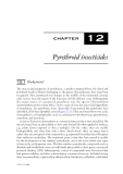ORGANIC POLLUTANTS: AN ECOTOXICOLOGICAL PERSPECTIVE - CHAPTER 12