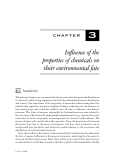 ORGANIC POLLUTANTS: AN ECOTOXICOLOGICAL PERSPECTIVE - CHAPTER 3