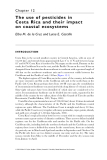 Pesticide Residues in Coastal Tropical Ecosystems: Distribution, fate and effects - Chapter 12