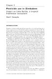 Pesticide Residues in Coastal Tropical Ecosystems: Distribution, fate and effects - Chapter 3