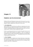 Radiation and Health - Chapter 13