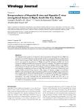 "Báo cáo khoa học: "" Seroprevalence of Hepatitis B virus and Hepatitis C virus among blood donors in Nyala, South Dar Fur, Sudan"""