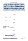 Tóm tắt công thức lớp 11