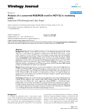 """Báo cáo khoa học: """" Analysis of a conserved RGE/RGD motif in HCV E2 in mediating entry"""""""