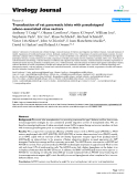 "Báo cáo khoa học:"" Transduction of rat pancreatic islets with pseudotyped adeno-associated virus vectors"""