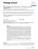 "Báo cáo khoa học: ""The complete genome of klassevirus – a novel picornavirus in pediatric stool"""