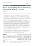 """báo cáo khoa học: """" Factors influencing the production of stilbenes by the knotweed, Reynoutria × bohemica"""""""