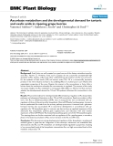 "báo cáo khoa học: ""  Ascorbate metabolism and the developmental demand for tartaric and oxalic acids in ripening grape berries"""