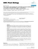 "báo cáo khoa học: ""  The isolation and mapping of a novel hydroxycinnamoyltransferase in the globe artichoke chlorogenic acid pathway"""