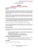 Chương 1: Những vấn đề chung của kế toán