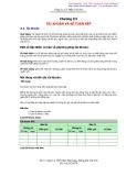 Chương 3: Tài khoản và kế toán kép