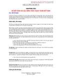 Chương 8: Số kế toán và các hình thức hạch toán kế toán
