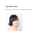 Ngọt ngào tóc bím