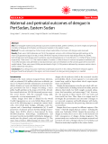 "Báo cáo y học: "" Maternal and perinatal outcomes of dengue in PortSudan, Eastern Sudan"""