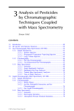 Analysis of Pesticides in Food and Environmental Samples - Chapter 3